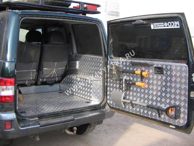 Тюнинг УАЗ-469 Хантер для бездорожья своими руками 22